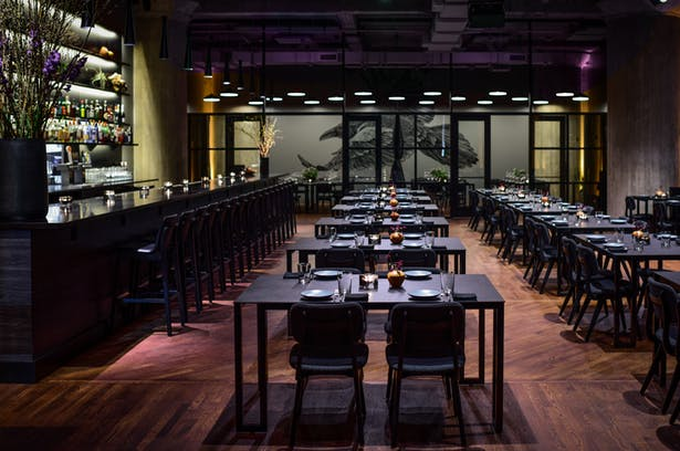 Corvino Supper Club Tasting Room Hufft Archinect