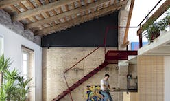 A rugged rehab of an architect's personal home in Valencia