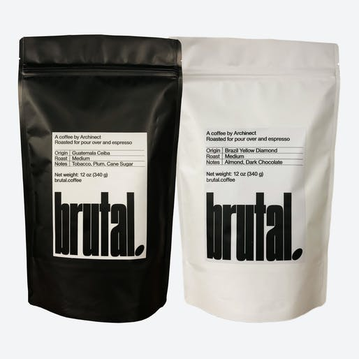 Brutal coffee in the new packaging