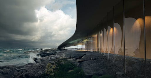 The Whale museum in Norway. Visual © Mir/Courtesy of Dorte Mandrup