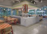 Corporate Campus Food Hall