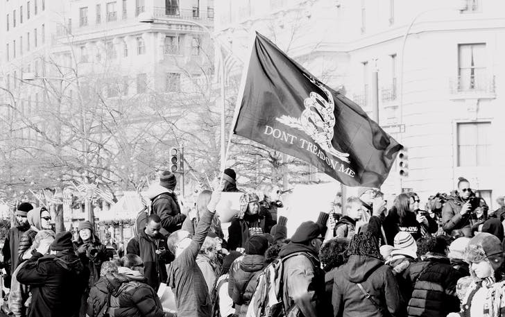 National March Against Police Violence Washington DC. Photograph by Ted Eytan, via Flickr