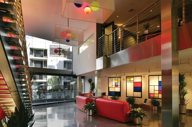 First Floor Reception Lobby