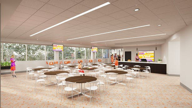 Final Rendering-Multipurpose Room