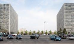 Mies van der Rohe's Towers at Lafayette Park, Detroit