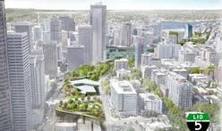 Plan to cover Interstate-5 with a park and high-rise towers receives support in Seattle
