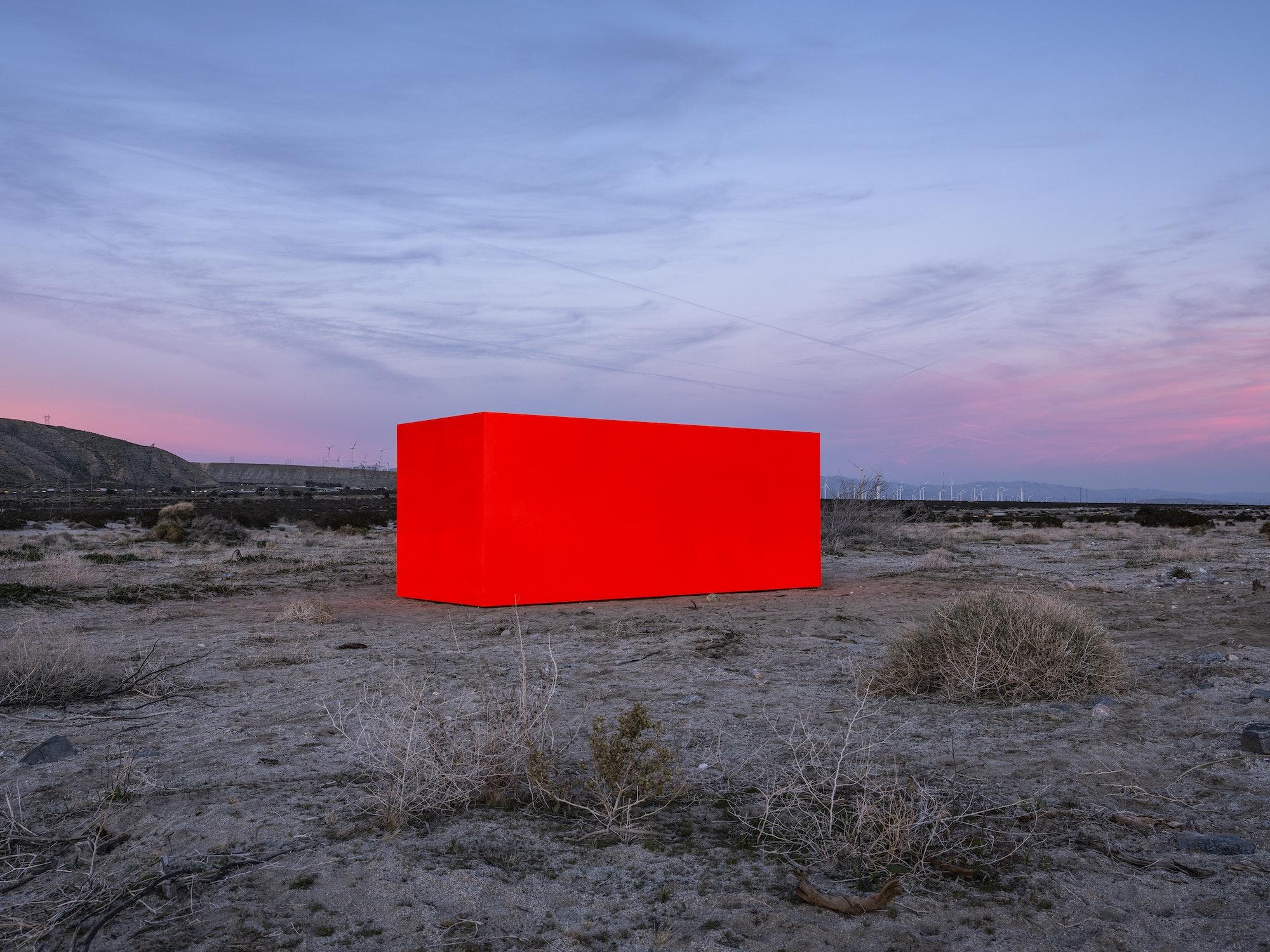 The contemporary site-specific art exhibition, Desert X, returns to Coachella Valley