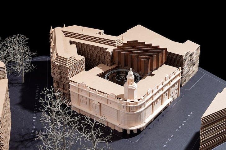Model of Shaftesbury Theatre © Stale Eriksen