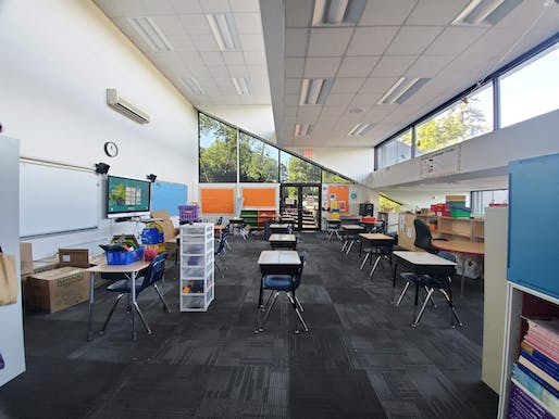 SAR Academy classroom. All imagery courtesy of Studio ST Architects.