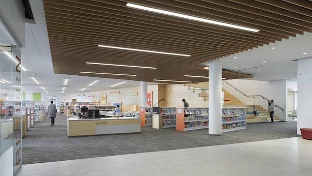 Brambleton Library - entry (2)