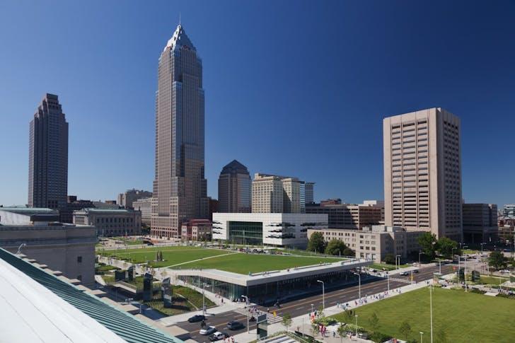 Cleveland Civic Core. Photo: Jim Miguire.