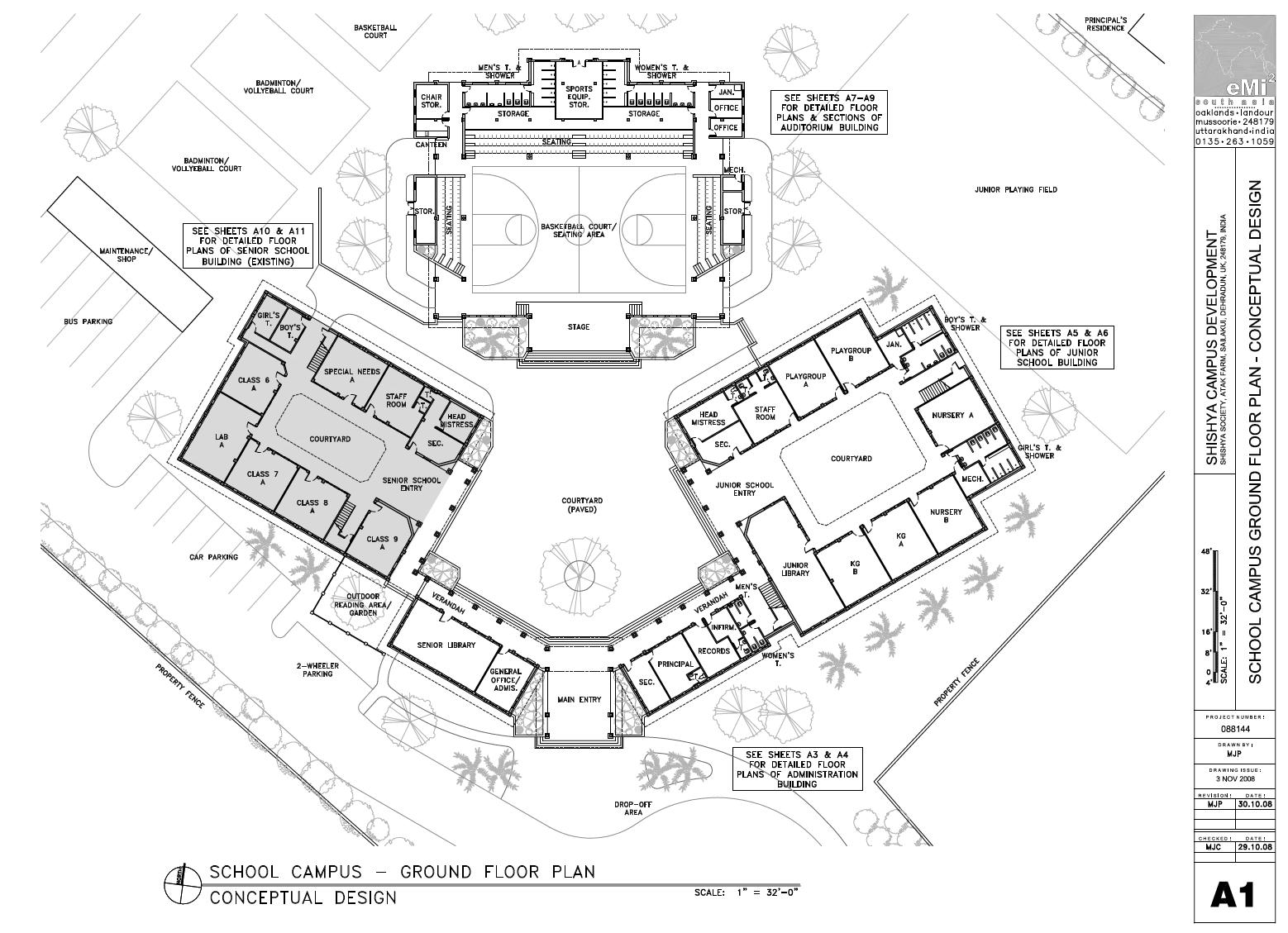 Campus Master Plan & School Design for Shishya Society