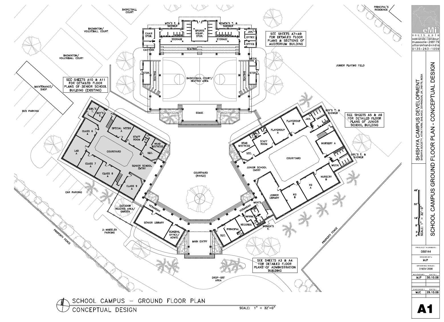 campus master plan  u0026 school design for shishya society