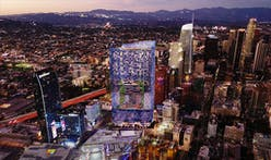 Olympic Tower, a flashy new Downtown LA skyscraper, hopes to leave its mark on the city's skyline
