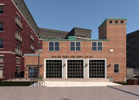 Exterior rendering (Revit Vray)