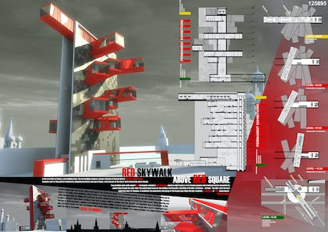 Competition Entry-'Fashion Palace in Moscow'- Honorable Mention