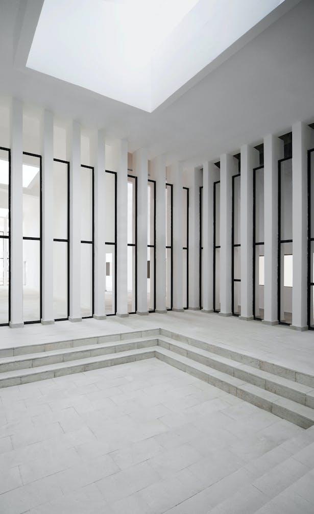 Indoor Courtyard Credits: West-line Studio