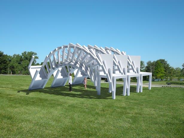 Falling Chair Pavilion