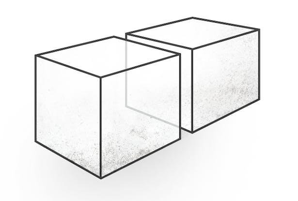 • Subdivide - Define 2 Distinct Spaces