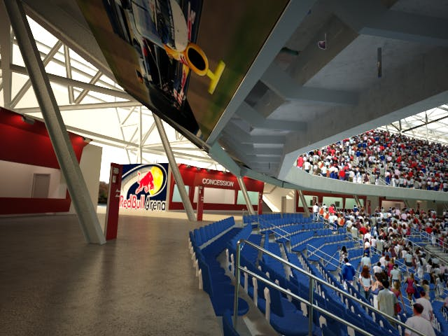 Outlets In Nj >> Red Bull Arena | Louis Mari, AIA | Archinect