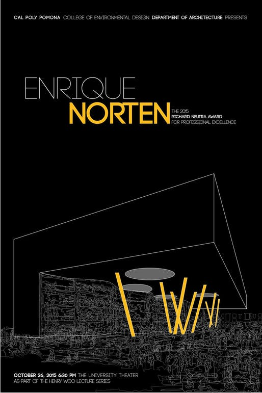 Poster courtesy of Cal Poly Pomona, Department of Architecture.