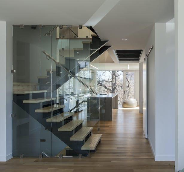 main floor / staircase