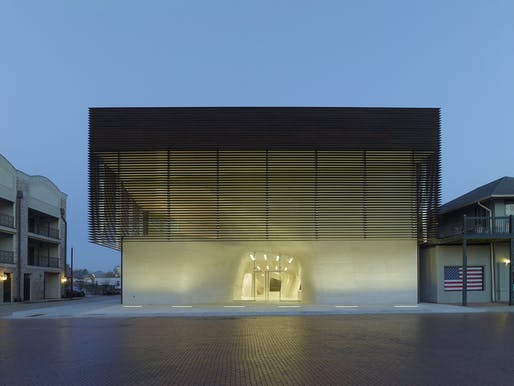 Louisiana State Museum and Sports Hall of Fame by Trahan Architects.