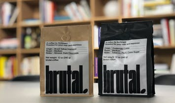 Archinect Launches Brutal Coffee