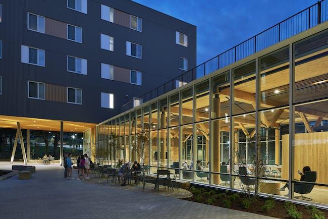 University of Arkansas Adohi Hall (Residential, Living Learning) © Leers Weinzapfel Associates