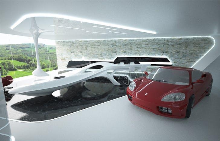 Auto residence, Modena Italy, feasibility study.
