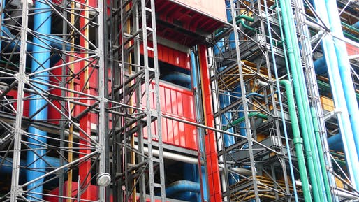 Centre Pompidou. Image via Wikipedia