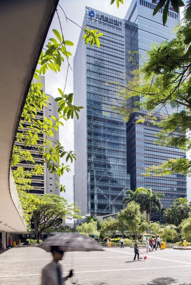 China Construction Bank Tower by Aedas