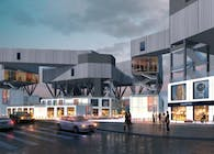 Spatial Variation-Design of art gallery and commercial street