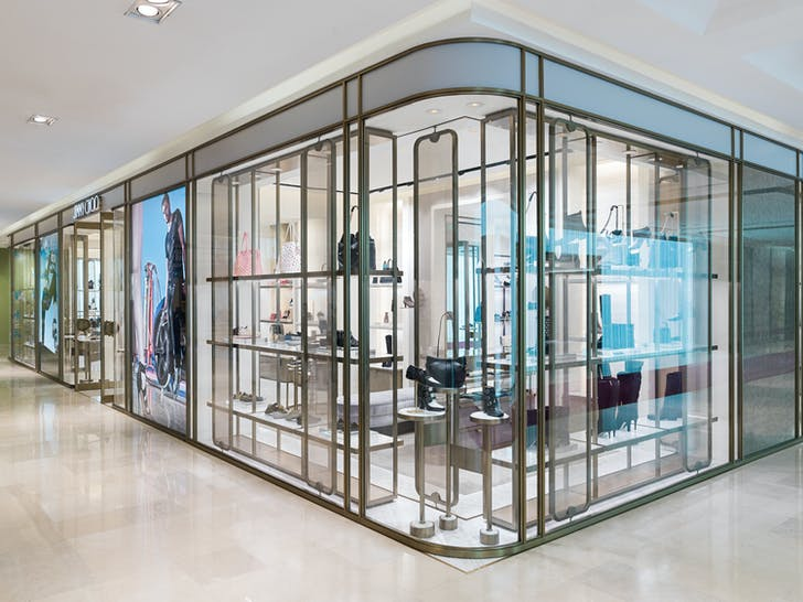 Jimmy Choo, Xian. Image courtesy of Christian Lahoude Studio.