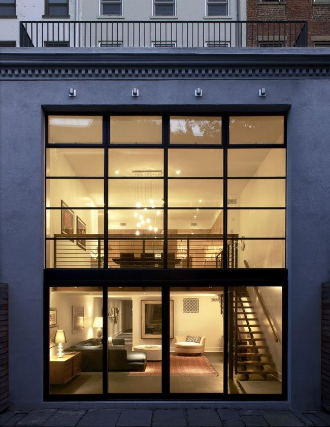 Brooklyn Heights Brownstone by Delson or Sherman Architects.