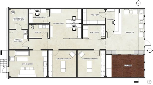 Floor Plans For Physical Therapy Clinic: Athens Holistic Wellness Center