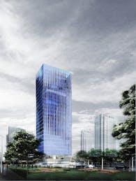 Mountain Climbing-High-rise building design