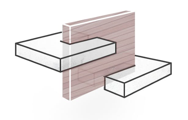 • Enclosed Space - Space enclosed by the ramp defines a new space visualized by a new volume