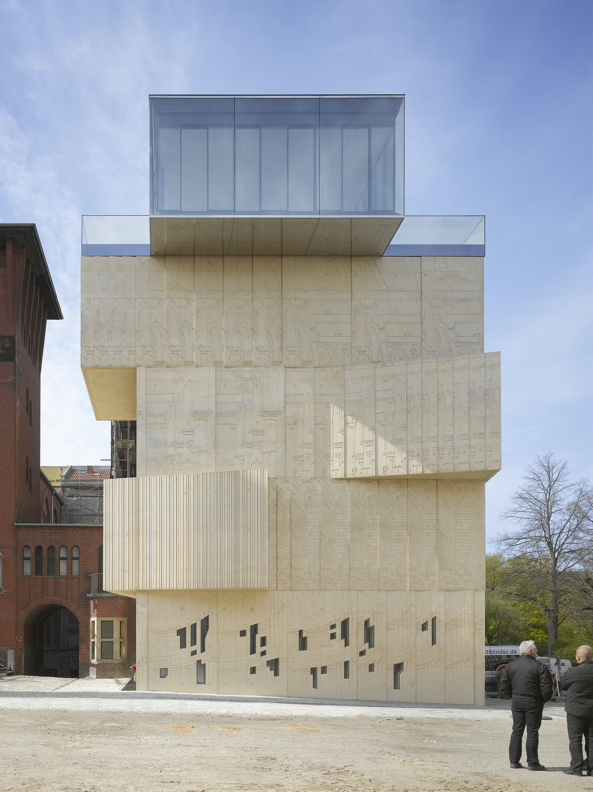Architecture Drawing Museum Berlin museum for architectural drawing, berlin | tchoban voss