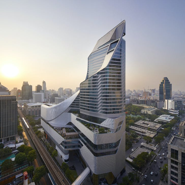 Central Embassy by AL_A, located in Bangkok, Thailand. Photo by Hufton + Crow.