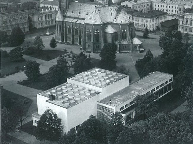 Viipuri Library, c. 1935. Credit: The Finnish Committee for the Restoration of the Viipuri Library