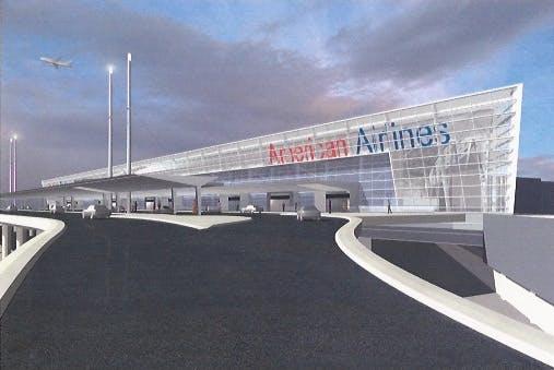 American Airlines Terminal Jfkinternational Airport