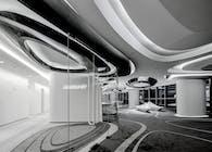 Sky SOHO Leasing Showroom / GAP Architects