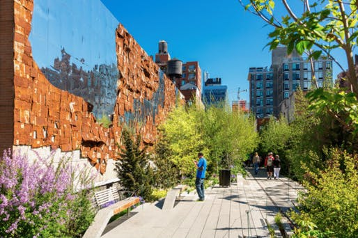 High Line Public Park, New York City. Photo: Sylvain Sonnet/Getty Images