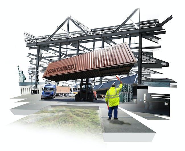 Figure 8: Rendering at Dock