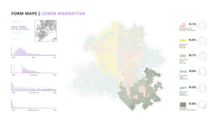 A form map of Lower Manhattan. Credit: Certain Measures