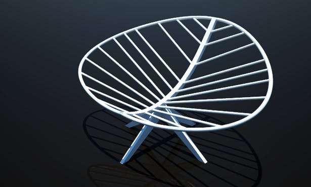 kimberly v.k.h. nguyen - leaf chair
