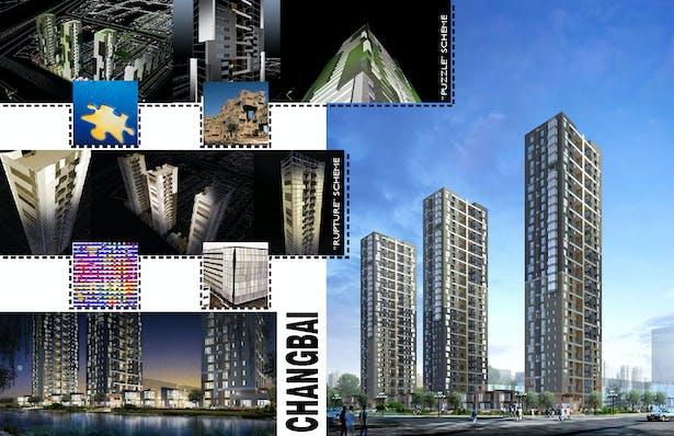 High-rise residential development, Beijing