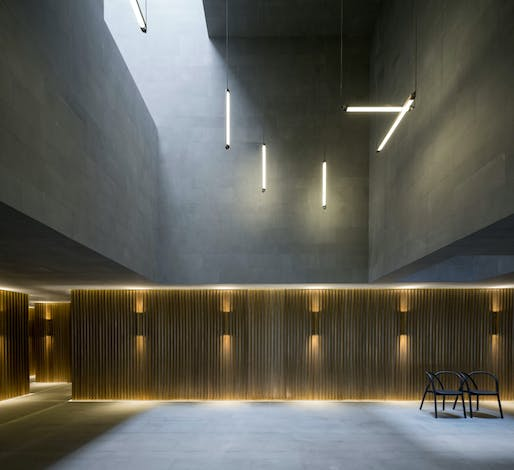 Government Interior of the Year: New Shanghai Theatre, Shanghai by Neri&Hu Design and Research Office. Image: Frame Awards.