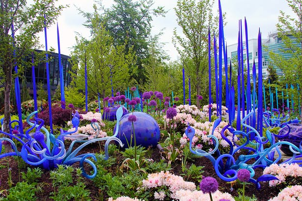 Chihuly Garden & Glass | Land Morphology | Archinect